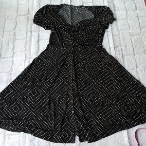 Tea length, lightweight dress